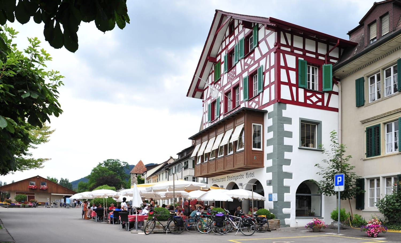 Restaurant Und Hotel Zur Rheingerbe Stein Am Rhein