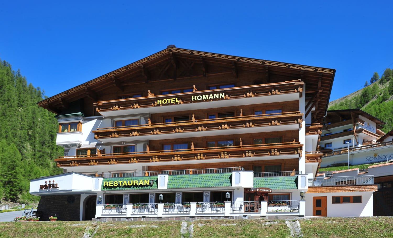 Hotel Haus Homann Samnaun Ravaisch